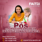 Psicopedagogia Educacional e Clínica